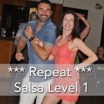Mississauga salsa dance lessons level1 repeat