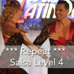 Mississauga salsa dance lessons level4 repeat