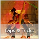 Mississauga Salsa Bachata dips and tricks