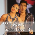 Salsa Level 3 Repeat-Dancing Toronto Salsa Lessons-Dancing Salsa for Beginners Lessons