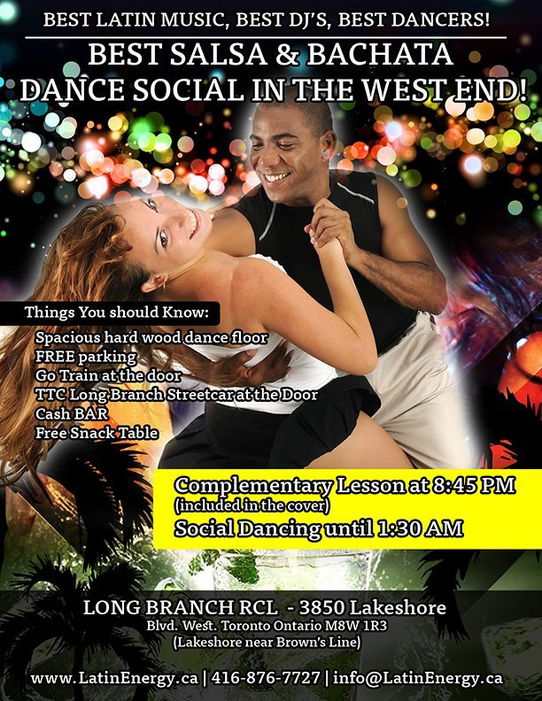 Toronto Best Latin Bachata Dance Classes Nights Party