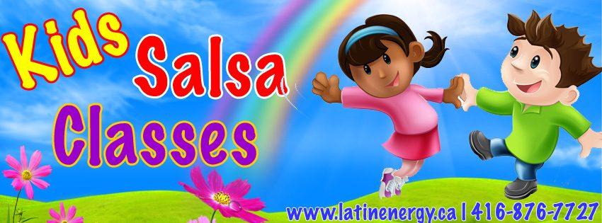 Kids dance Latin salsa toronto