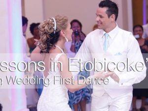 Wedding first dance lessins Toronto