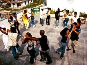 fun cuban salsa dancers