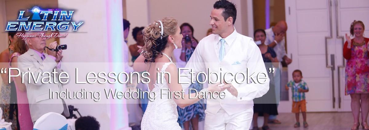 Wedding first dance choreography