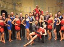 team salsa dance school show
