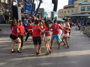 dancing fun cuban salsa