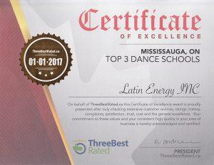 Toronto AWARD Salsa Bachata Dance School