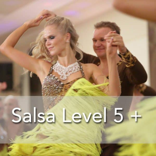Mississauga Salsa dance Level 5 Classes