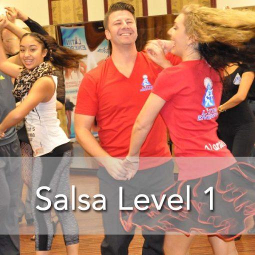 salsa dance toronto level 1