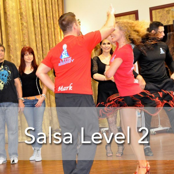 Toronto Salsa Dance Lessons Level 2