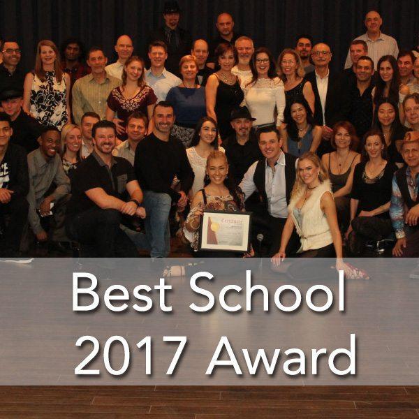 Toronto's #1 salsa bachata school award