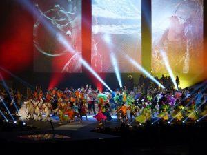 top dancers show salsa team school