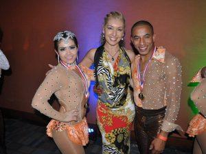 salsa champions dancers