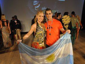 argentinial salsa man shines champion