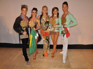 Salsa judge miami dance show
