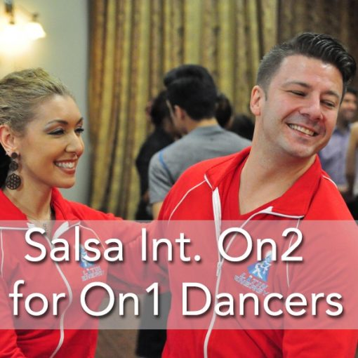 Latin Salsa Dance New York Style On 2 for On 1 Dancers
