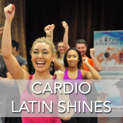 cardio salsa bachata footwork dance shines