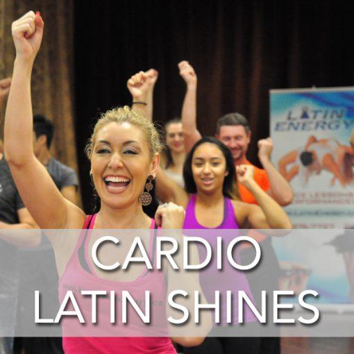 cardio salsa bachata footwork dance shines