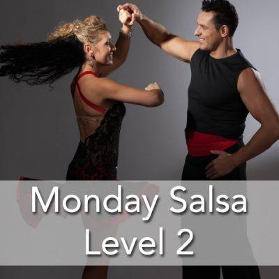 Monday Salsa Level 2 Beginner Group Class